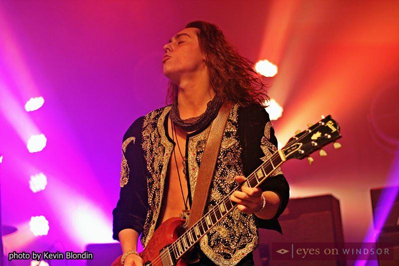 Jacob Kiszka, guitarist of Greta Van Fleet