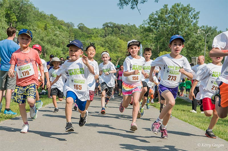 Kids's Run For Nature Holding Inaugural Windsor Event at Malden Park