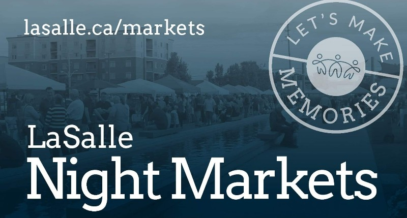 Lasalle Night Market Poster