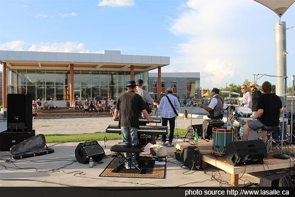 Lasalle Night Market and Summer Concerts