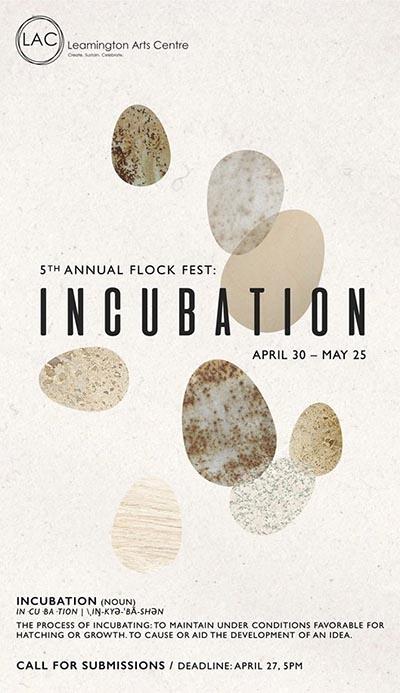 Leamington Flock Fest Poster