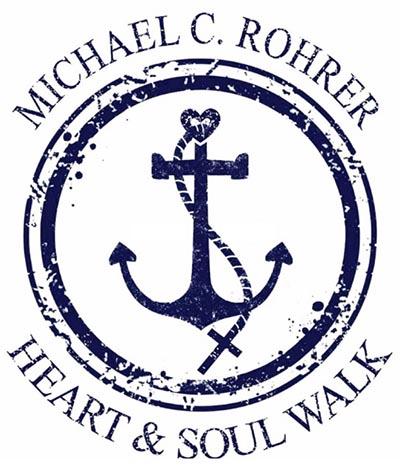 Michael C. Rohrer Heart and Soul Walk Logo
