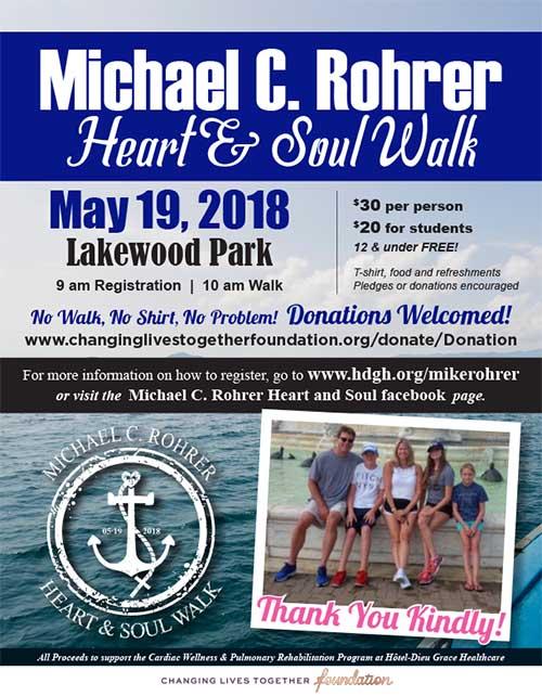 Michael C. Rohrer Heart and Soul Walk