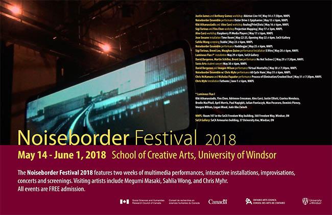 Noiseborder Festival 2018 | University of Windsor School of Creative Arts