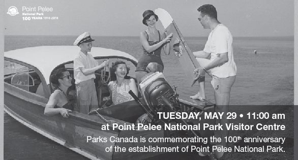 Point Pelee National Park 100th Anniversary