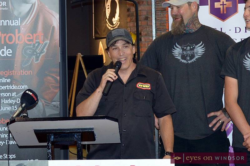 WRIF Meltdown named co-captain of the Bob Probert Memorial Ride