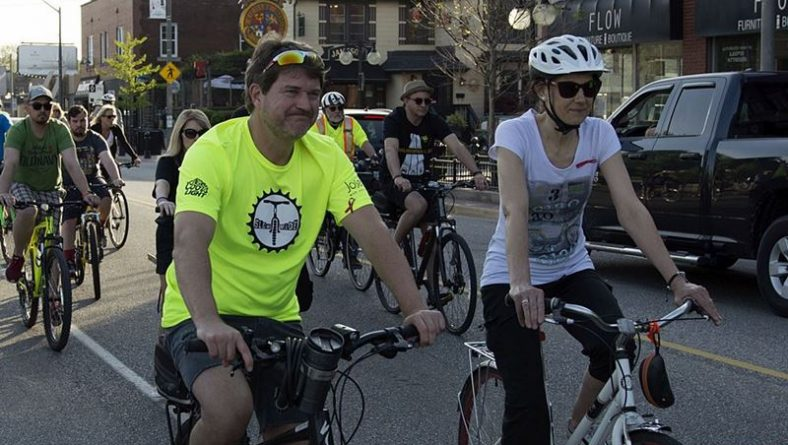 Windsor Ride Of Silence Reminds Drivers To Give Cyclists Room On The Road