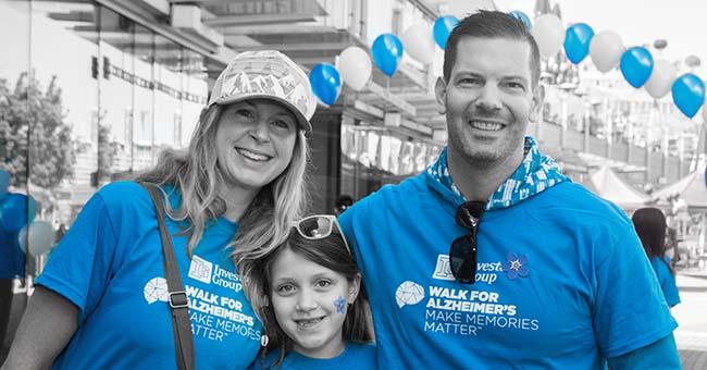 Walk For Alzheimer's MAke Memories Matter