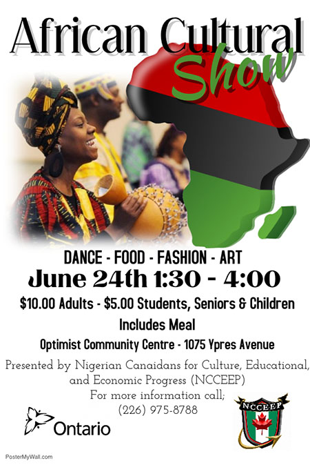 African Culture Show Windsor