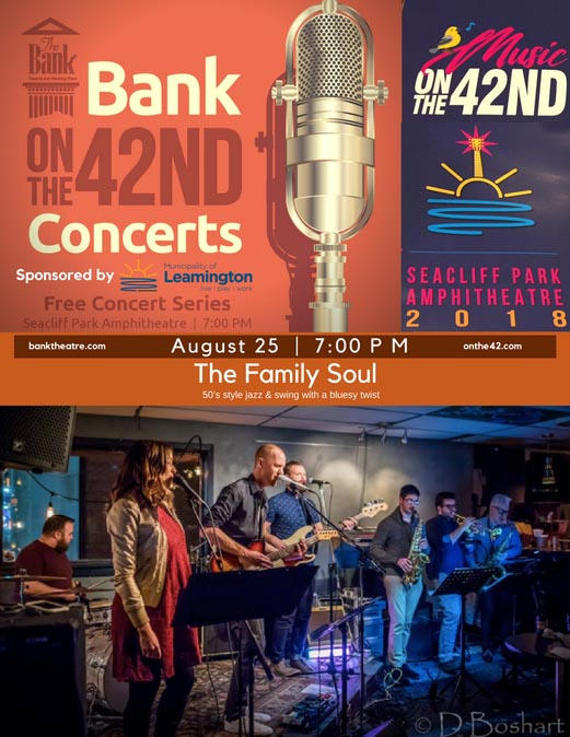 The Family Soul live at the Bank OnThe42 Concert Series