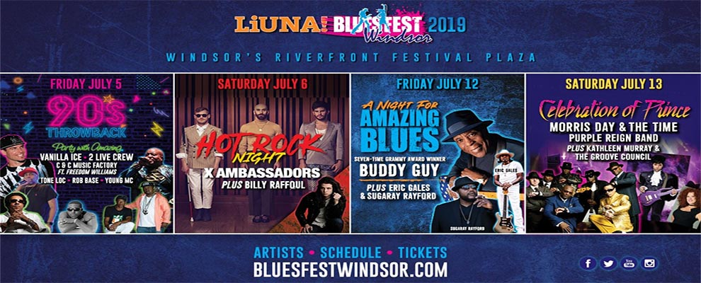 Bluesfest Windsor 2019