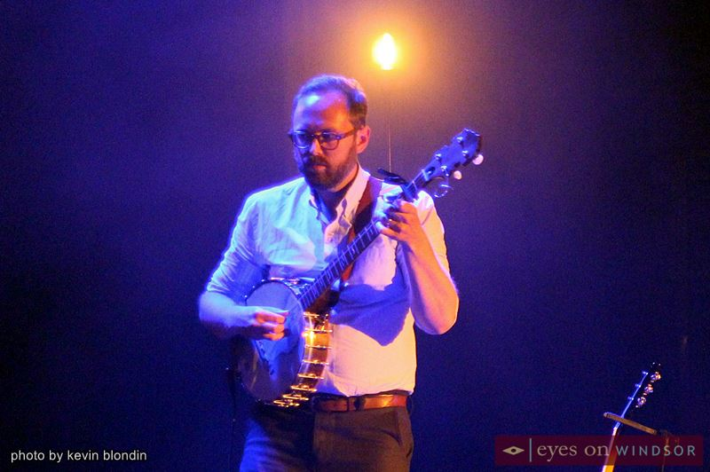 Great Lake Swimmers perform at Windsor's Olde Walkerville Theatre