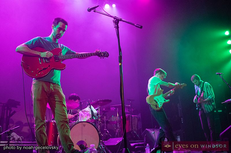 Toronto indie-pop band, Jaunt, performing in Windsor, Ontario, at the Olde Walkerville Theatre