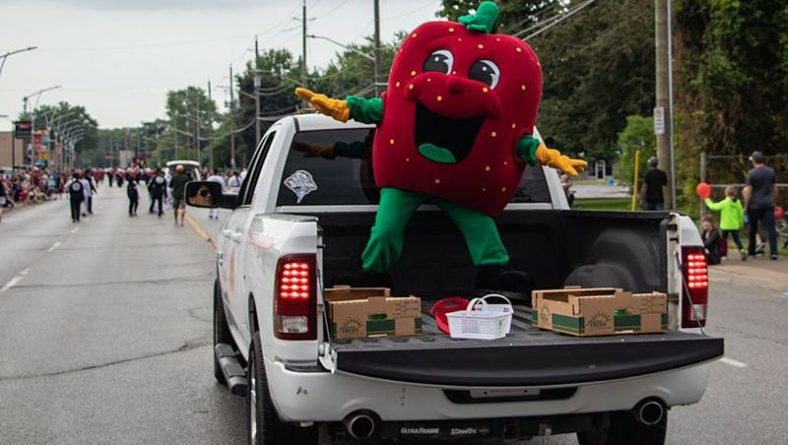A Morning of Fun During 31st Annual Lasalle Strawberry Festival Parade Shown In Photos
