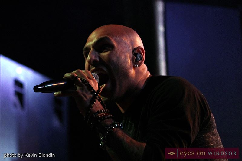 Lead vocalist Adrian Patrick of Otherwise