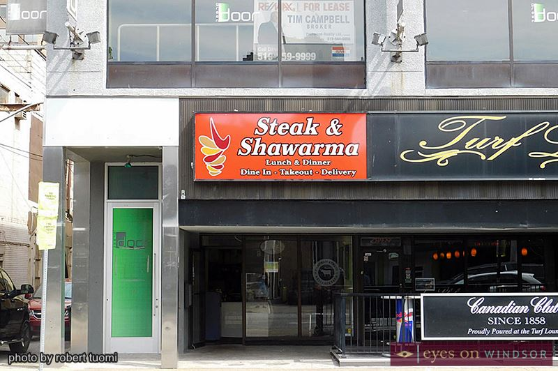 Steak & Shawarma restaurant Windsor, Ontario.