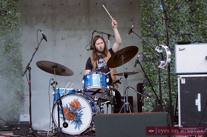 The Sheepdogs drummer Sam Corbett