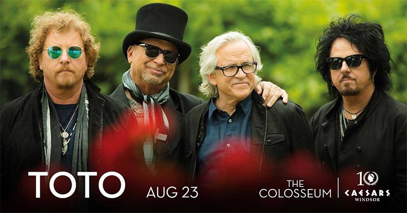 Toto concert Caesars Windsor