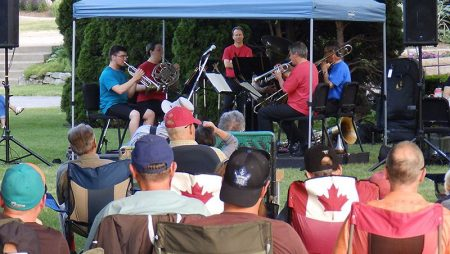 Windsor Symphony Orchestra Outdoor Summer Concert's Variety Dazzles