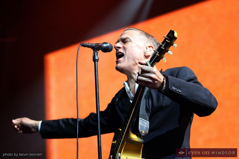 Bryan Adams performing at Caesars Windsor