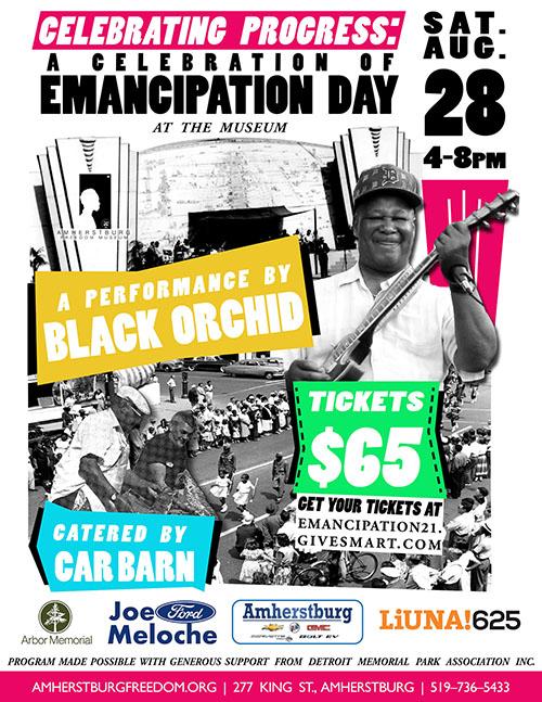 Emancipation Celebration Dinner & Dance Poster