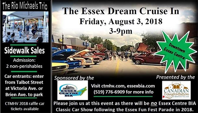 Essex Dream Cruise In Poster
