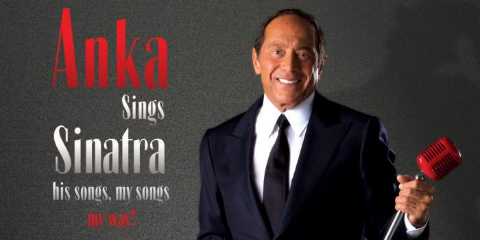 Paul Anka at Caesars Windsor, Singing Sinatra, His Songs, My Songs, His Way