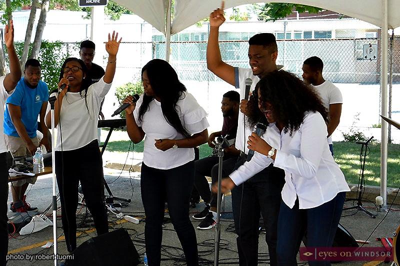 Throne of Grace Redeemed Christian Church's Restoration House choir