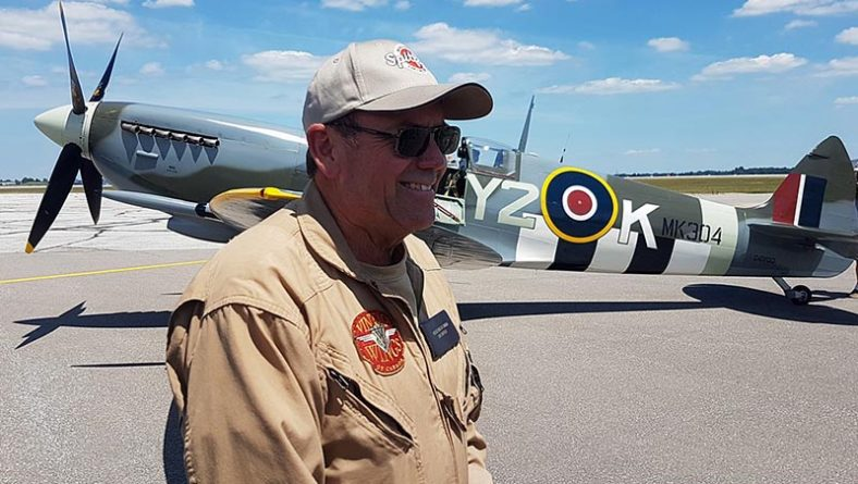 Roseland Spitfire WWII Fighter Plane Lands In Windsor For Public To Enjoy