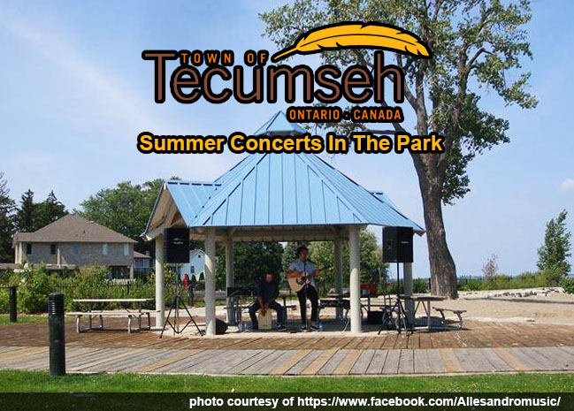 Tecumseh Summer Concerts In The Park