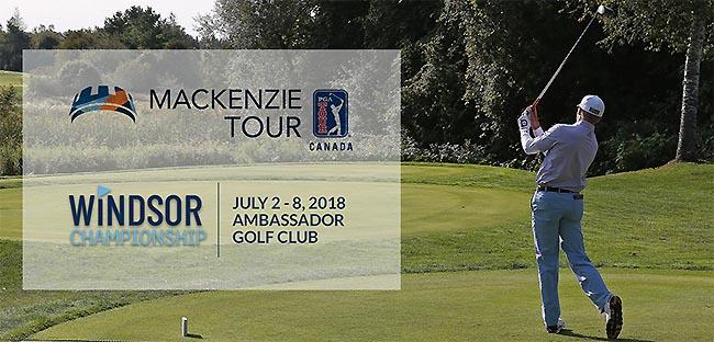 Windsor Championship PGA Tour Canada Mackenzie Tour
