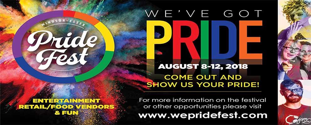 Windsor Essex Pride Fest Slider