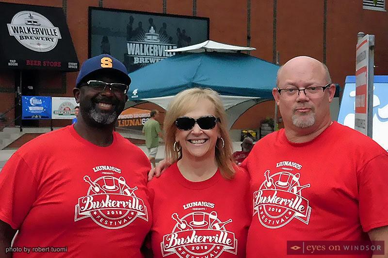 Buskerville Festival volunteers