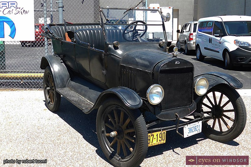 Ford Model T during the Make A Wish Classics Car Show