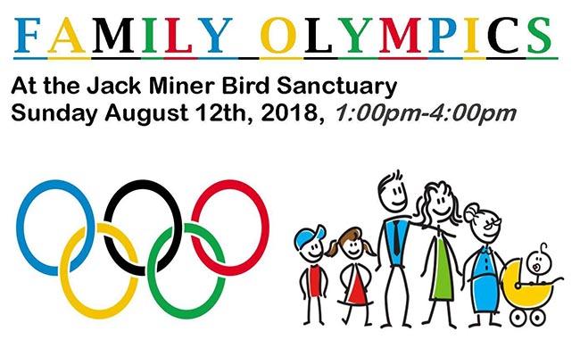 Family Olympics at Jack Miner Bird Sanctuary
