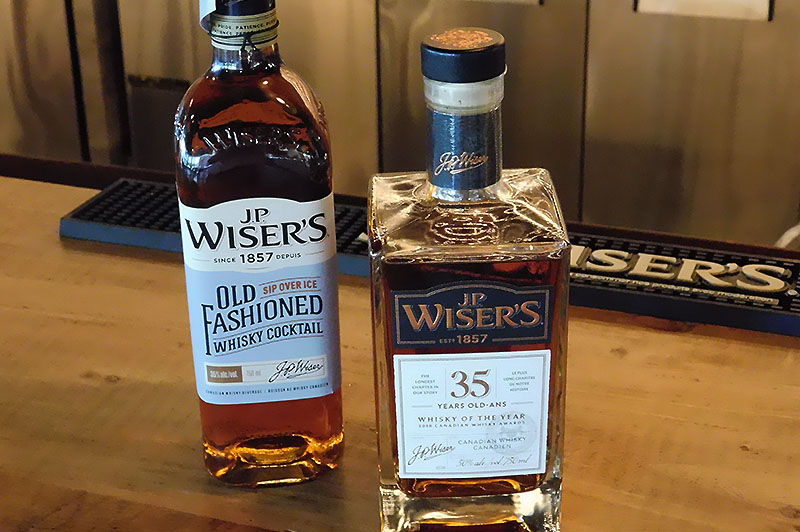 Two J.P. Wiser's spirits to be released in September of 2018