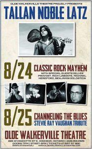 Tallan Noble Latz Concert in Windsor Poster