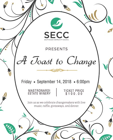 A Toast To Change Gala Poster