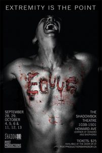 Equus presented by Post Productions Windsor Poster