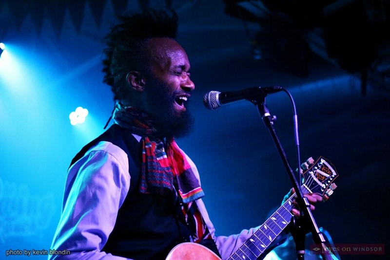Fantastic Negrito performing in Detroit