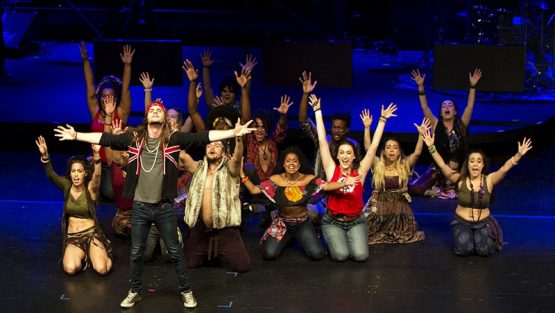 Cast of Hair produced by ACT Windsor