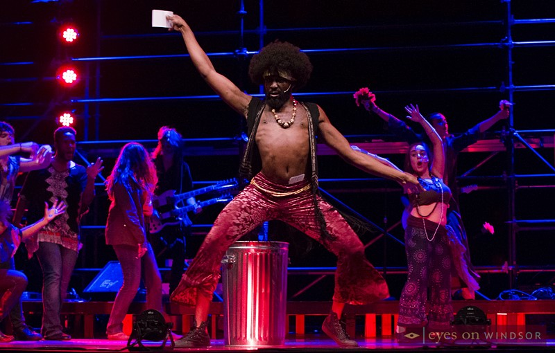 Mikee Anthony (cast as Hud) in Arts Collective Theatre's production of Hair