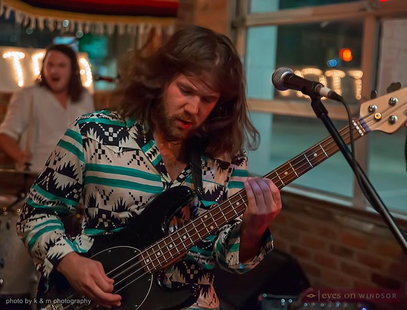 Huttch bassist / vocalist Zack Vivier