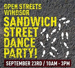 Open Streets Windsor Sandwich Street Dance Party