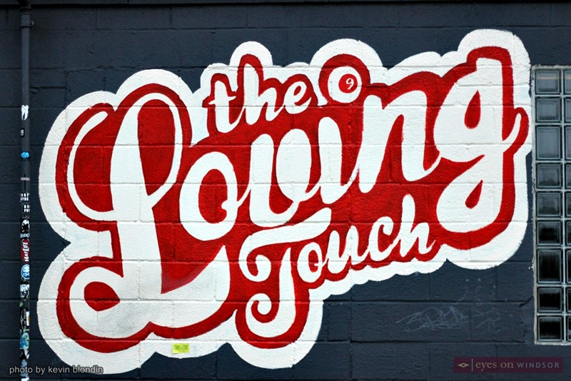 The Loving Touch Ferndale logo