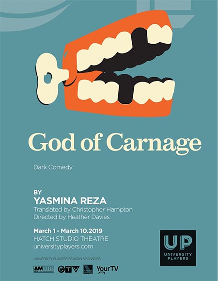 UP Windsor God of Carnage Poster