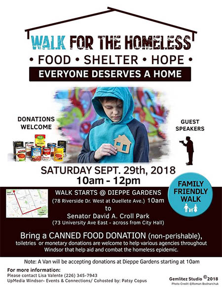 Walk For The Homeless Poster