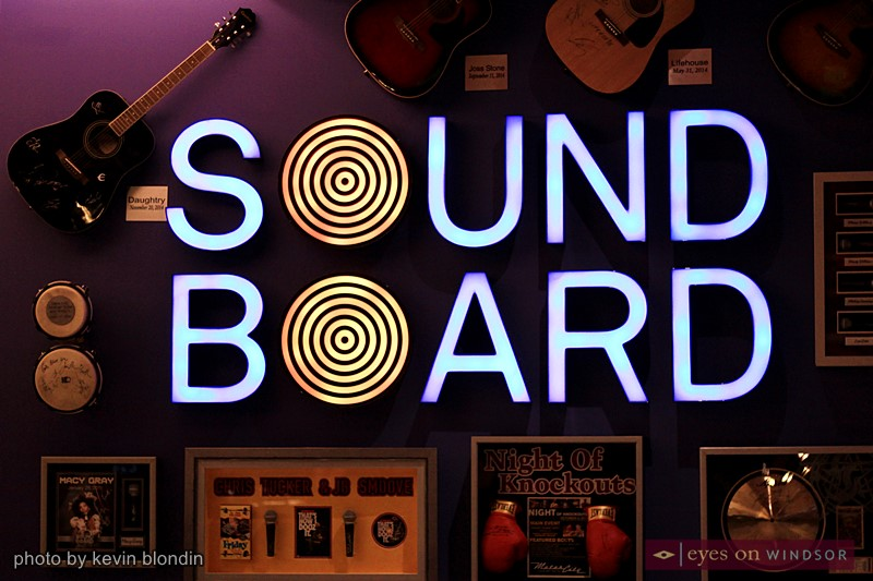 Sound Board Theatre at MotorCity Casino and Hotel.