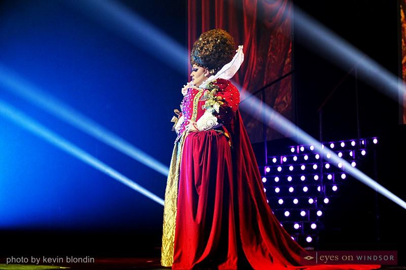 Drag queen Eureka
