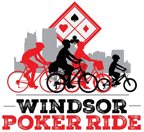 Windsor Poker Ride Logo (Bicycle Ride For Dad)